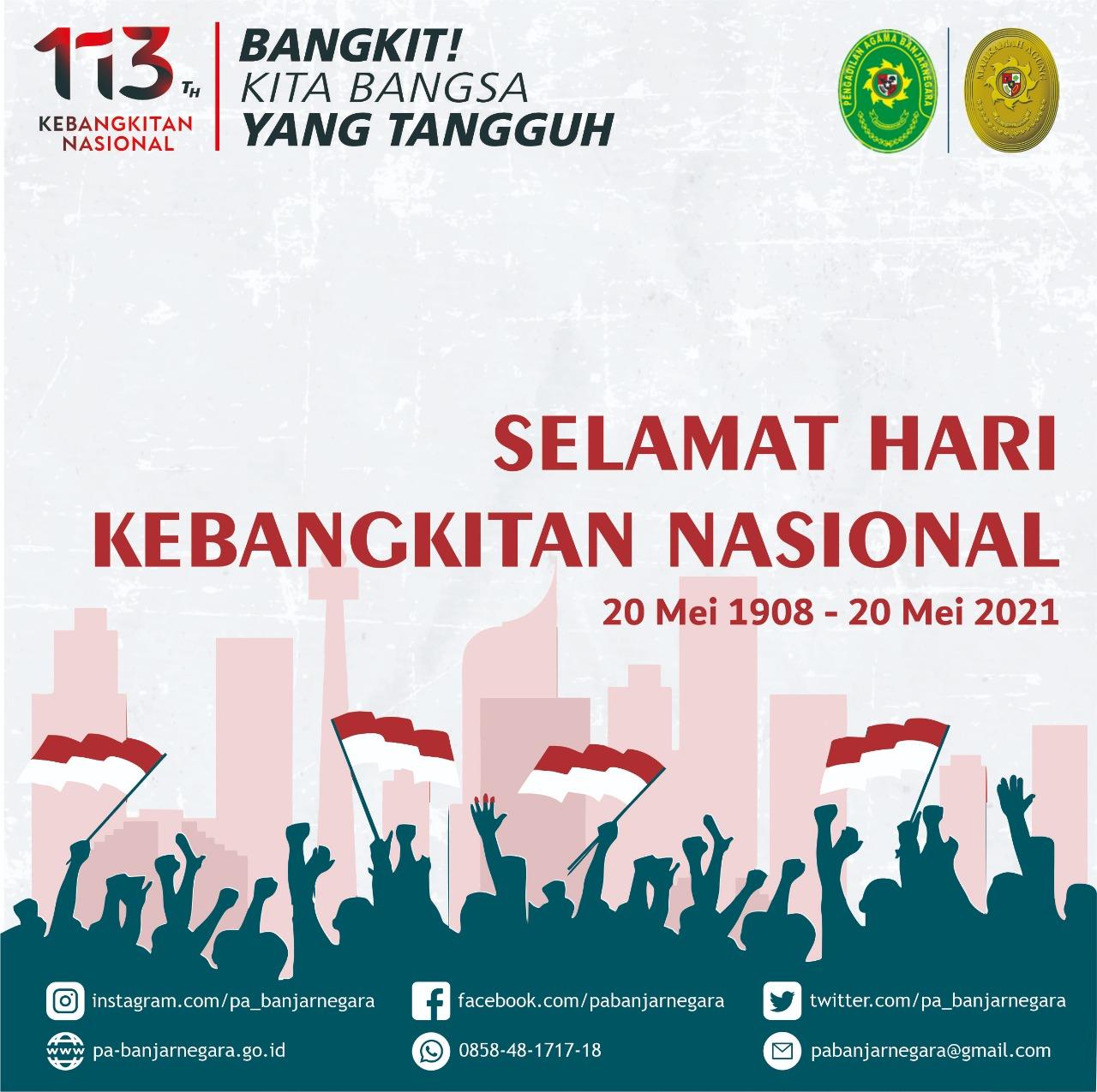 Selamat Hari Kebangkitan Nasional 2021